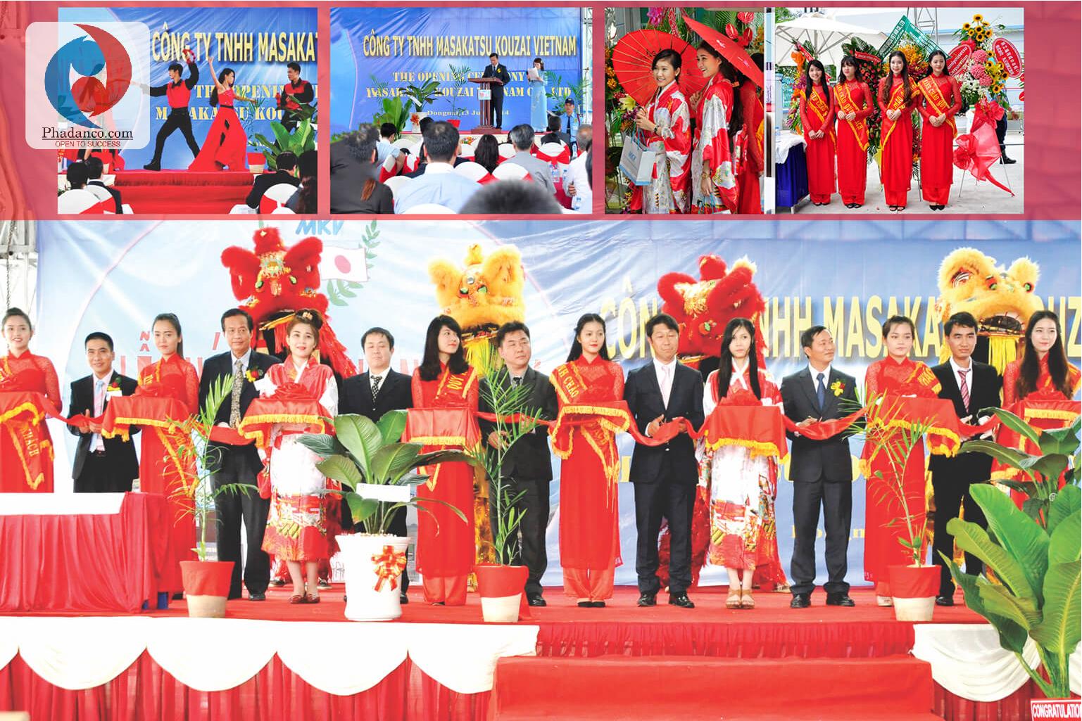 Công ty Truyền thông Phan Đăng tổ chức sự kiện cho Công ty Masakatsu Kouzai Việt Nam