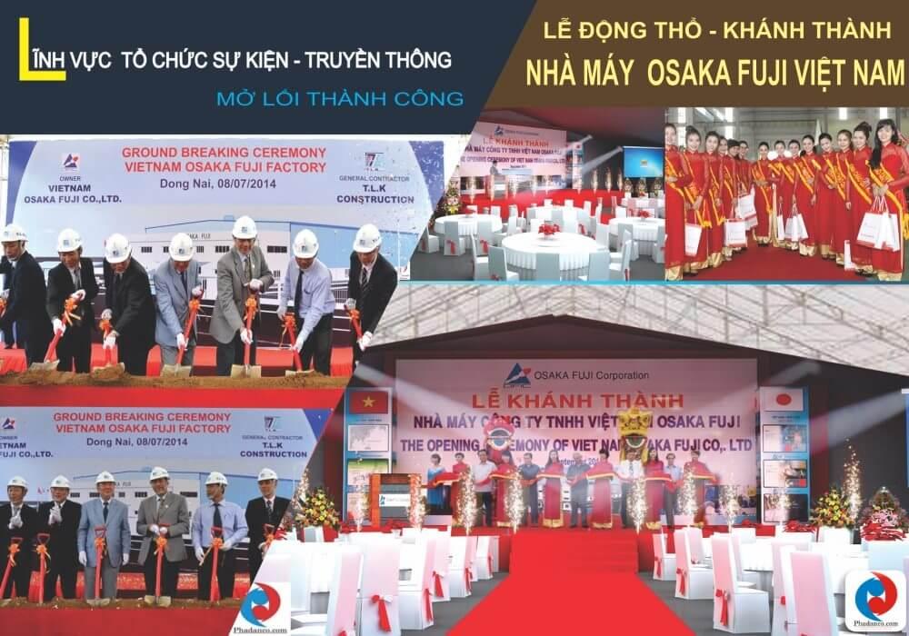 Công ty Truyền Thông Phan Đăng chuyên tổ chức lễ động thổ, Tổ chức lễ khai trương, Tổ chức lễ khánh thành