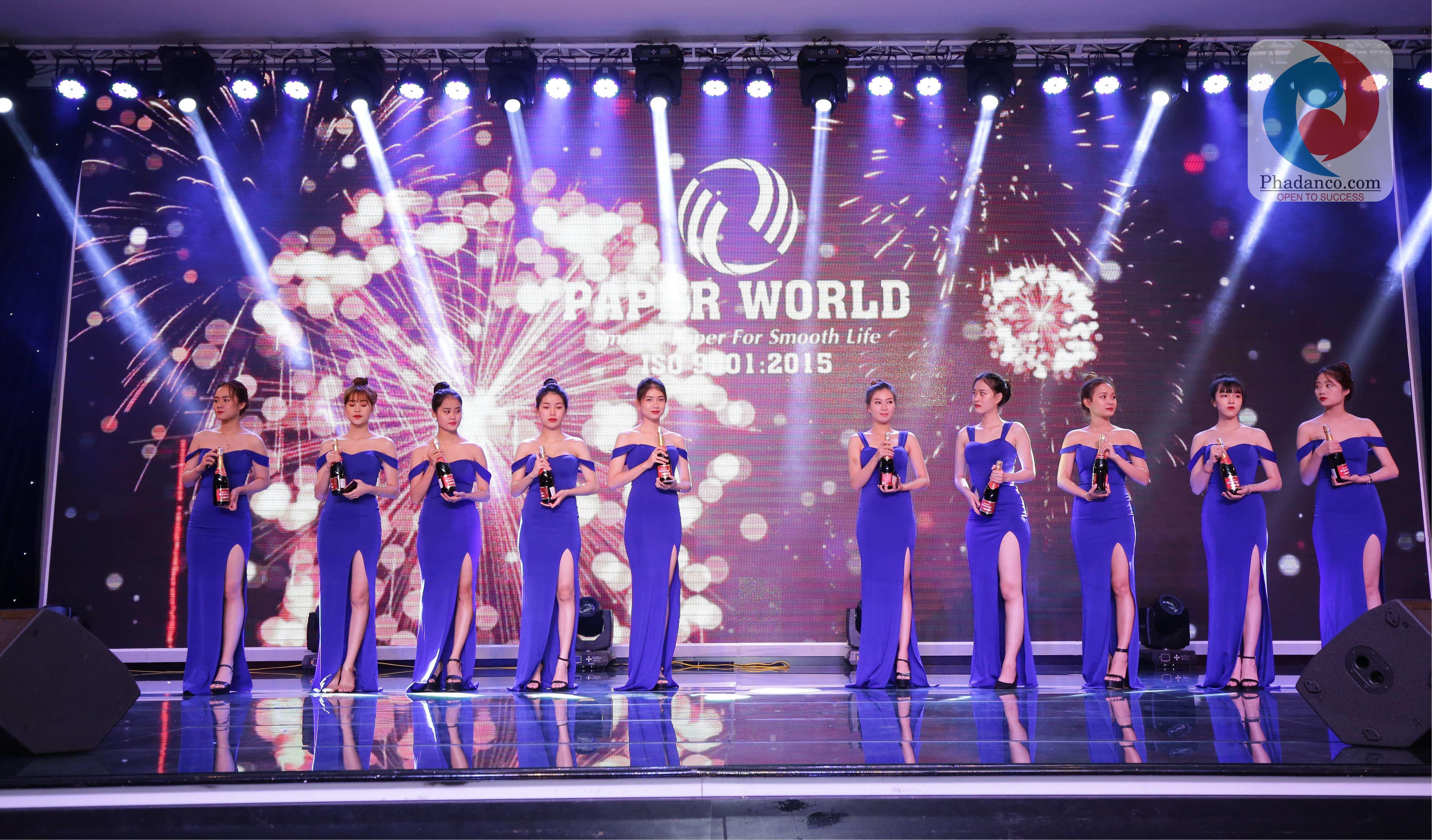 Công ty Truyền thông Phan Đăng tổ chức sự kiện cho Công ty Thế Giới Giấy