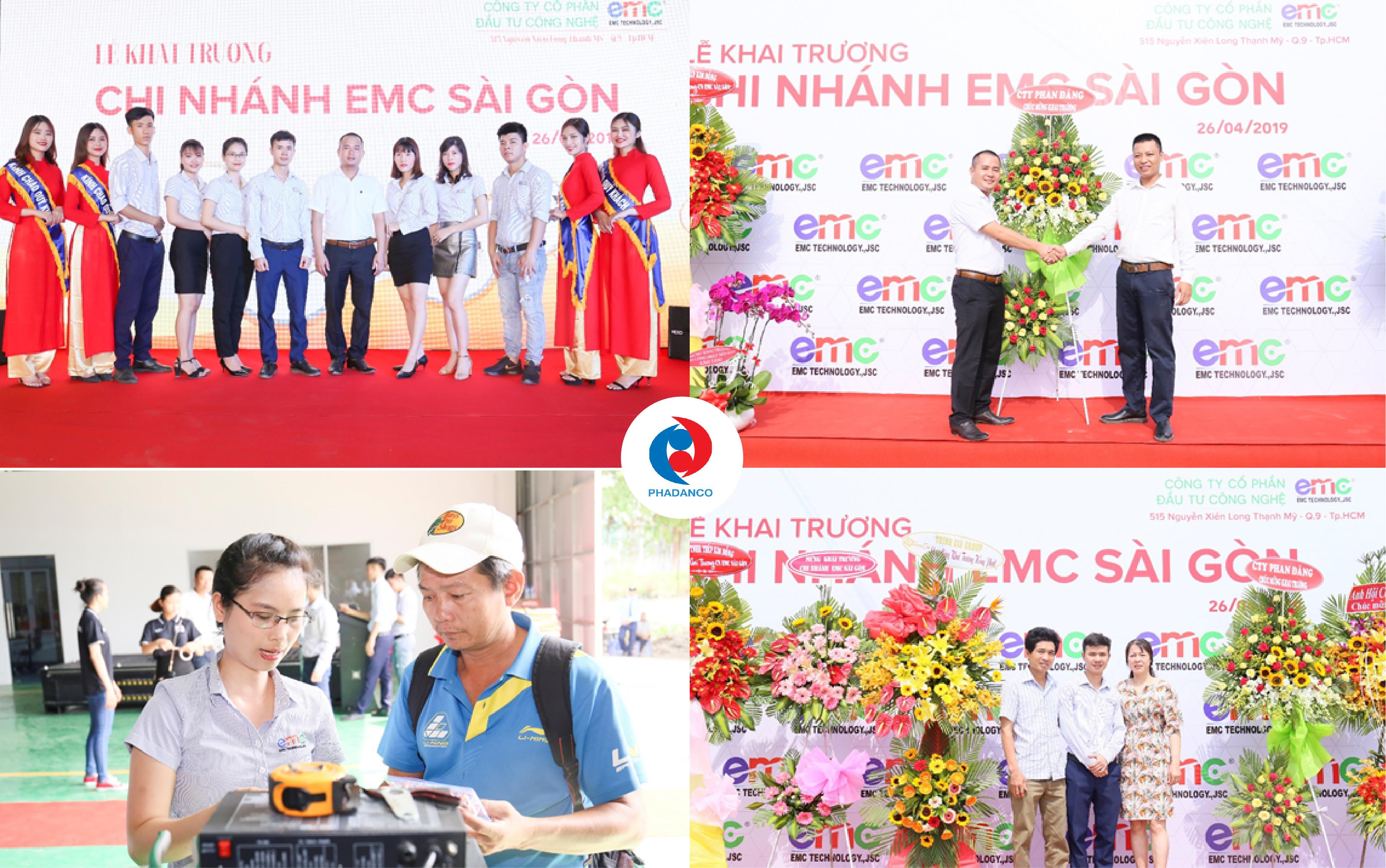 Công ty Truyền Thông Phan Đăng tổ chức lễ khai trương nhà máy EMC
