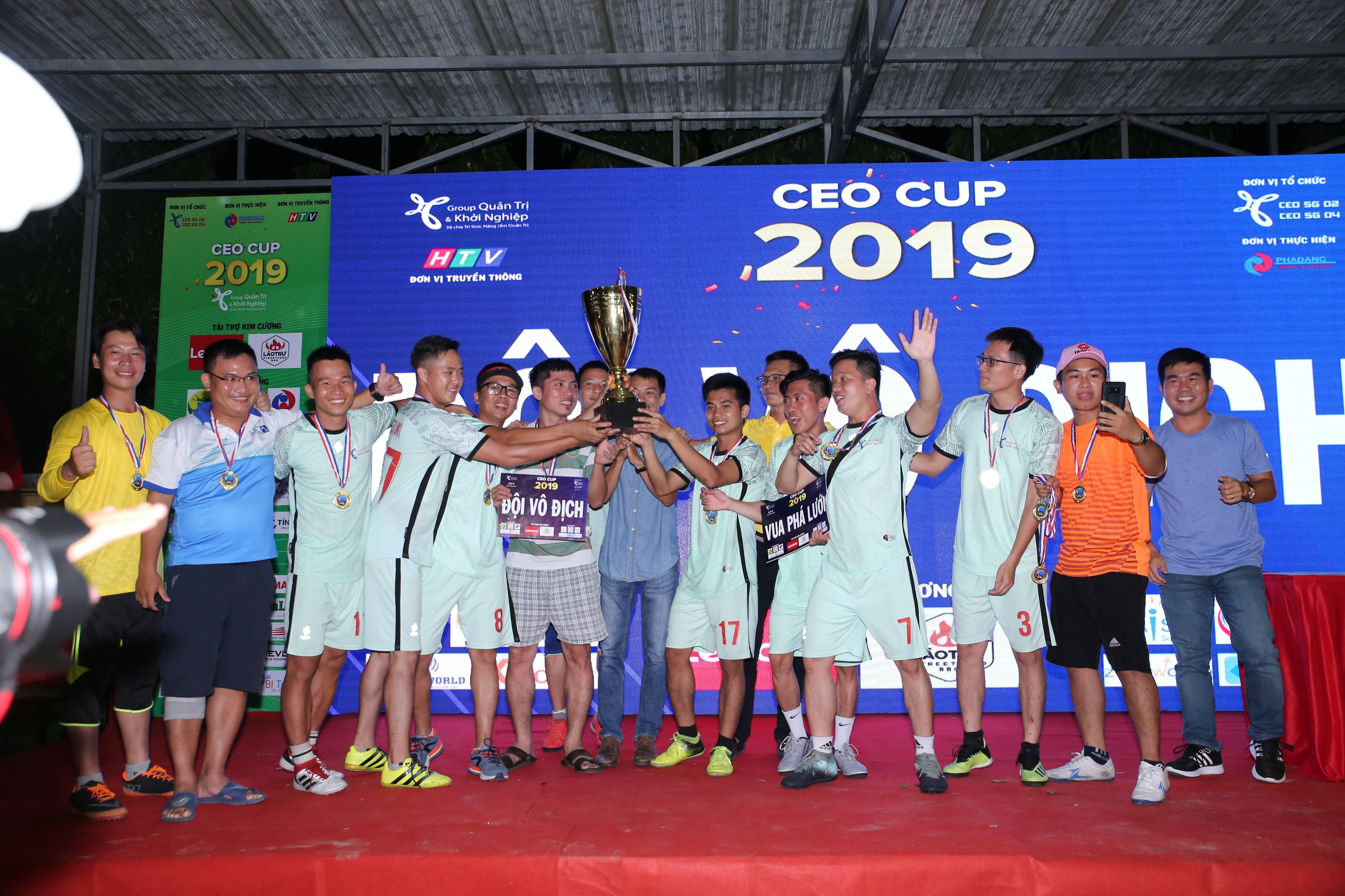 Công ty Truyền thông Phan Đăng Tổ Chức Thể Thao CEO CUP giữa các Doanh Nghiệp