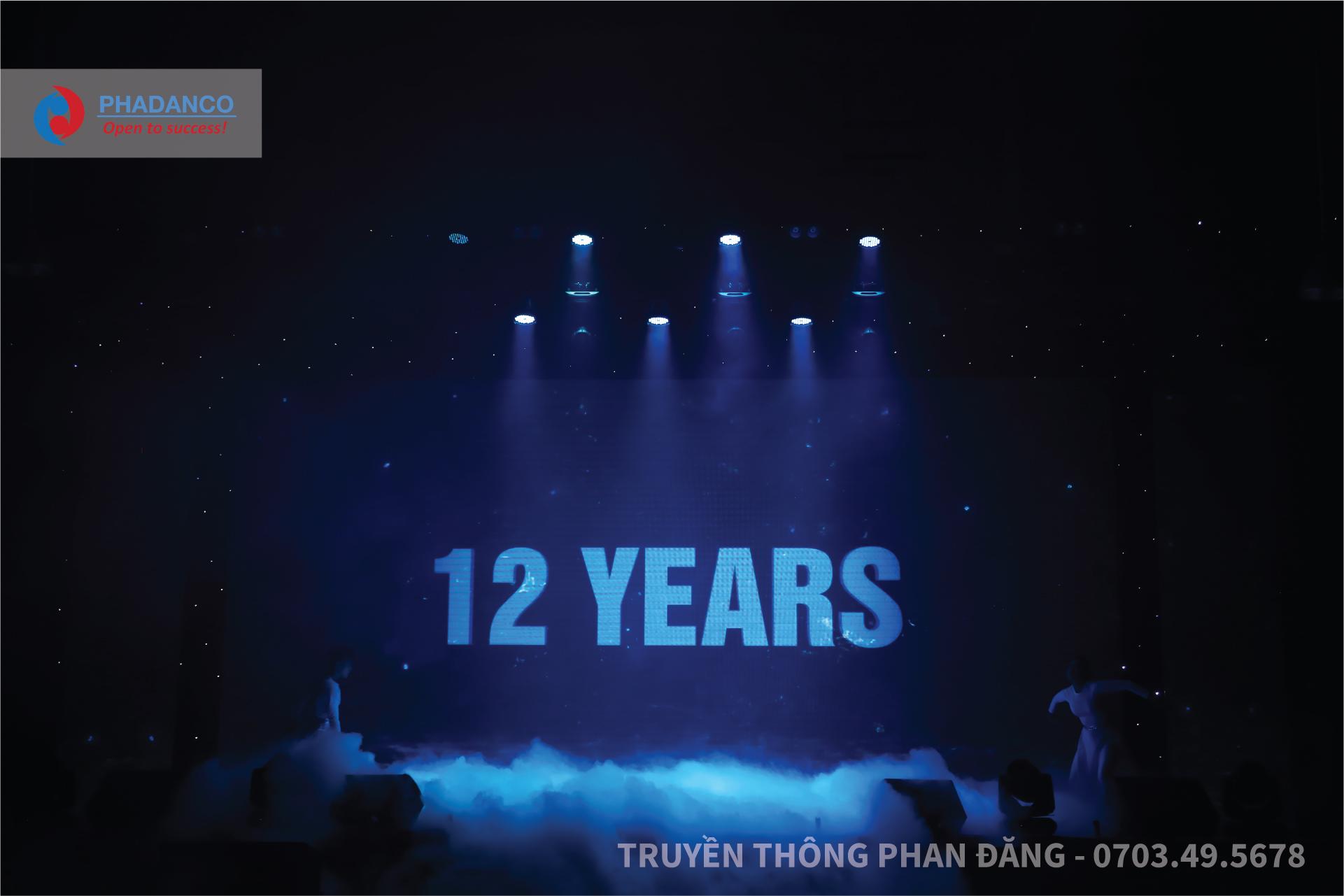 Kịch bản tổ chức lễ kỷ niệm 15 năm thành lập công ty