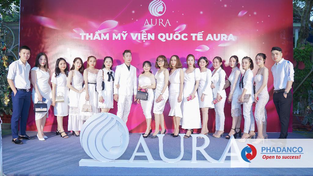 Công ty tổ chức sự kiện Year End Party cho Thẩm Mỹ Viện Quốc Tế Aura