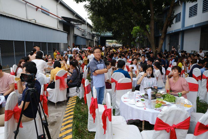 Hơn 1000 quan khách tham dự Tiệc Tất Niên tại công ty Vision Vina