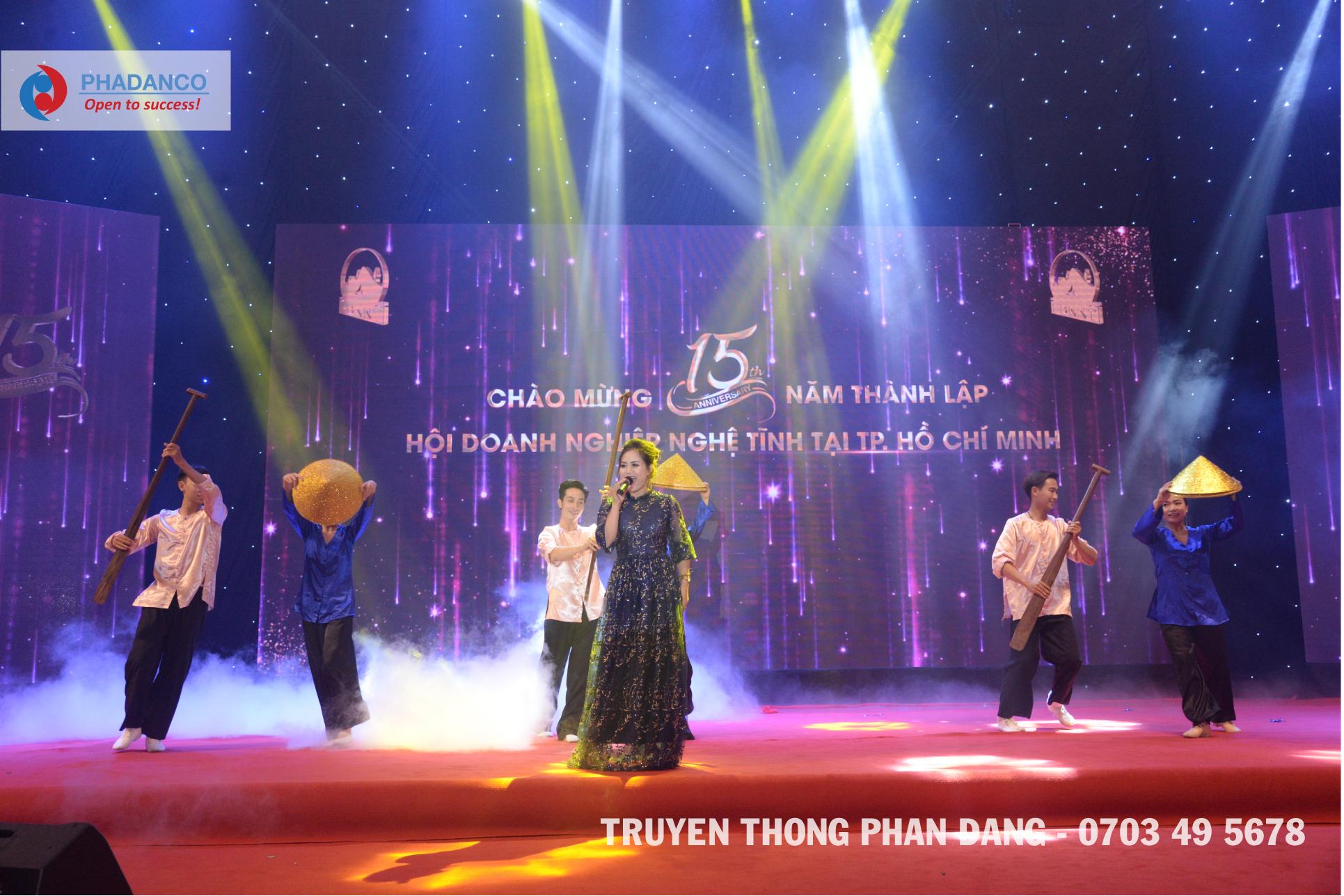 Truyền Thông Phan Đăng liên tục trúng thầu tổ chức sự kiện lớn, trọng đại