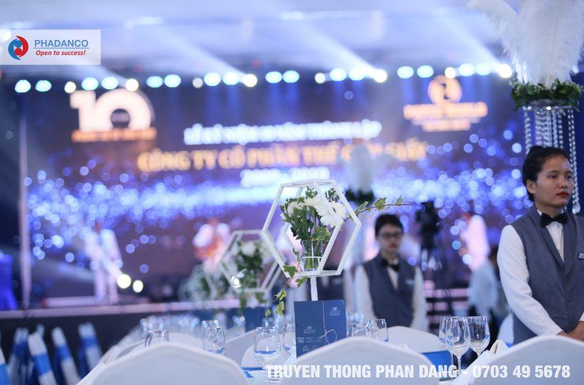 Truyền Thông Phan Đăng chia sẻ quy trình tổ chức sự kiện