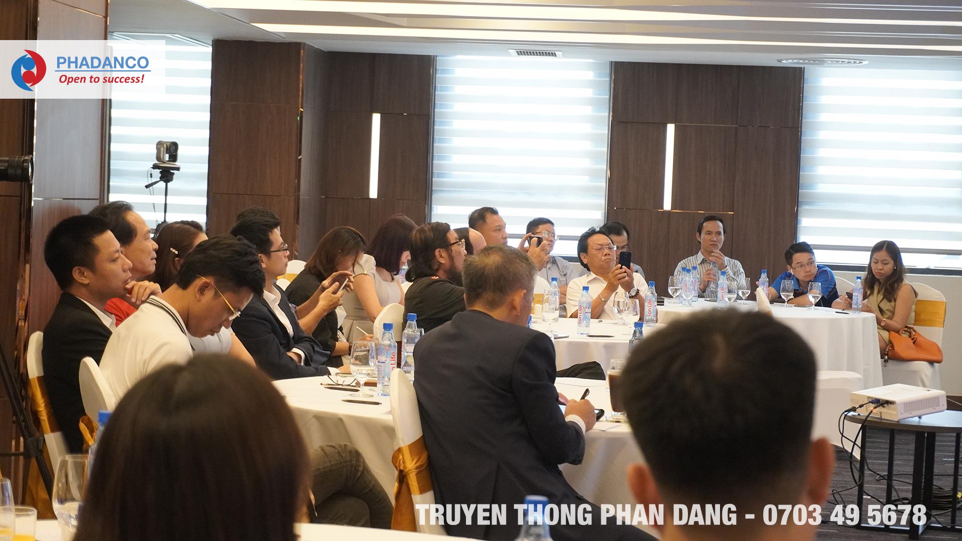 Phan Đăng tổ chức Tổ Chức Sự Kiện Tọa Đàm Kinh Tế với quy mô lớn tại TP.HCM