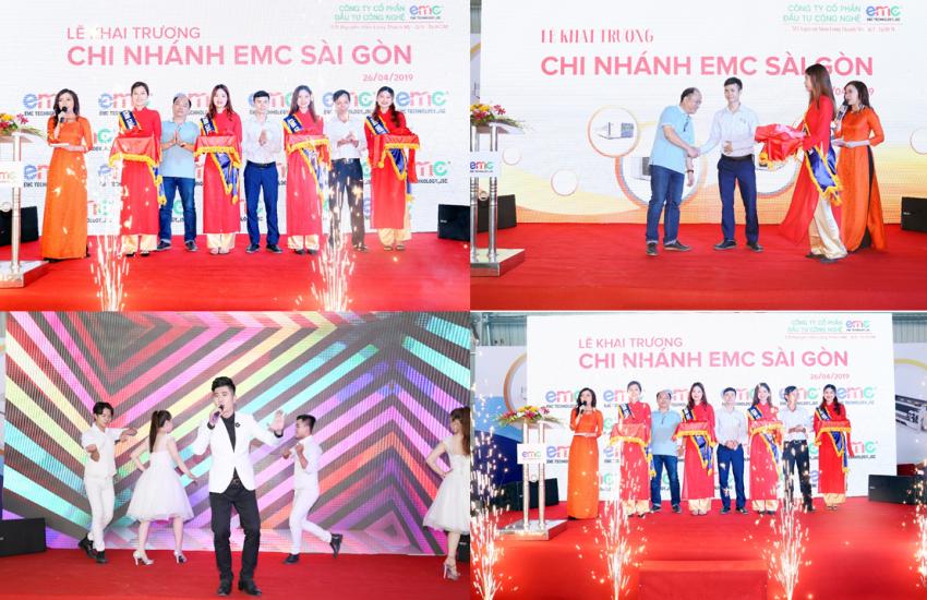 Lễ Khai Trương chi nhánh công ty EMC Sài Gòn do Truyền thông Phan Đăng tổ chức