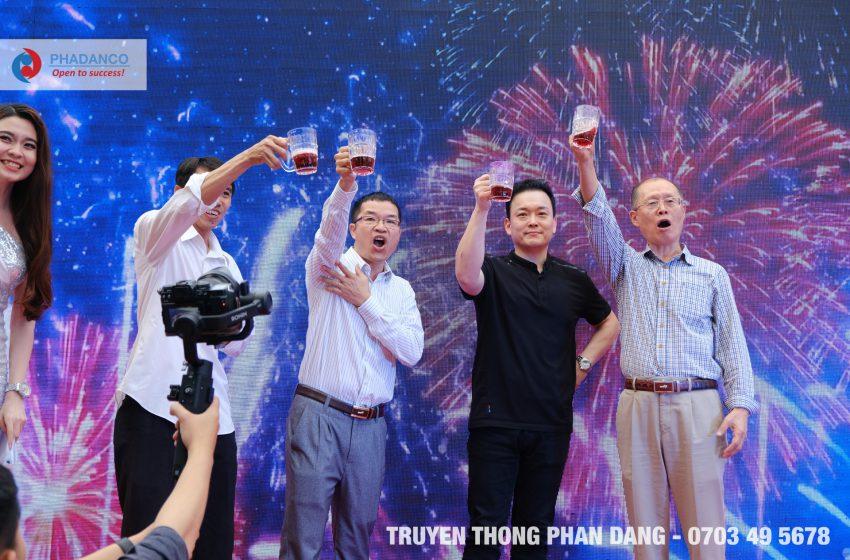Tiệc Tất Niên hoành tráng của công ty Vision Vina