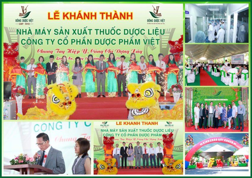 Truyền thông Phan Đăng tổ chức thành công Lễ Khánh Thành nhà máy sản xuất Đông Dược Việt
