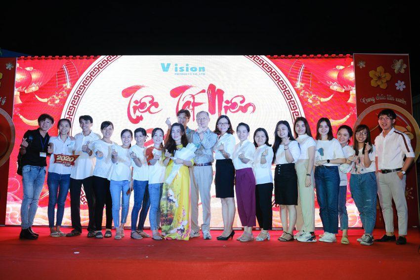 Tiệc Tất Niên công ty Vision Vina do Truyền thông Phan Đăng tổ chức
