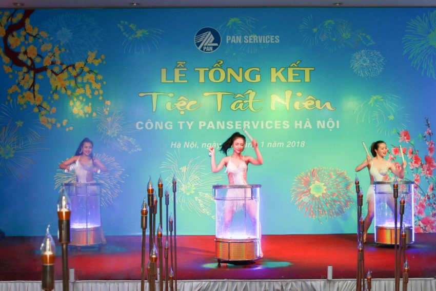 Lễ Tất Niên công ty Panservices do Truyền thông Phan Đăng tổ chức