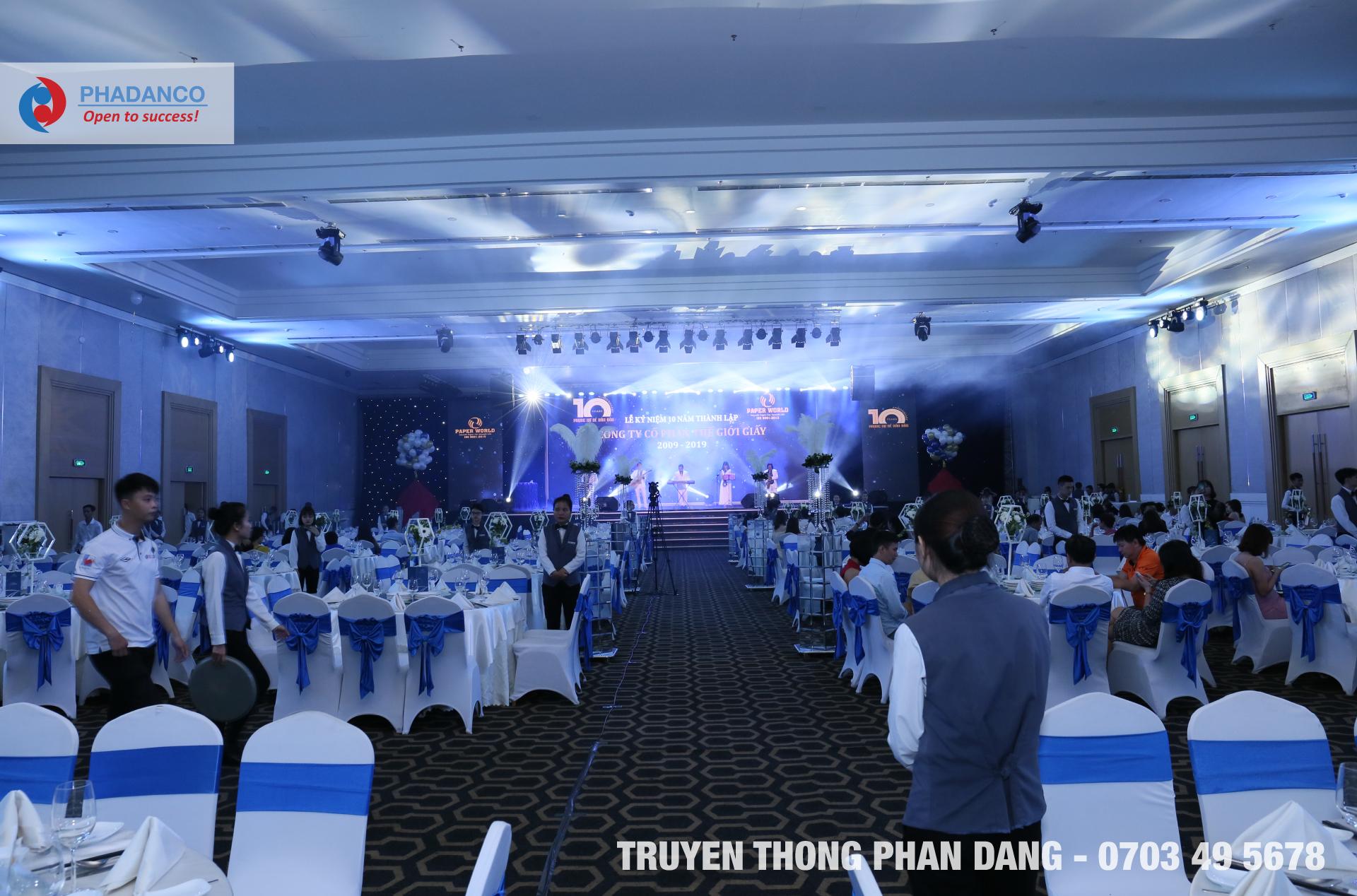 Công ty tổ chức sự kiện truyền thông Phan Đăng