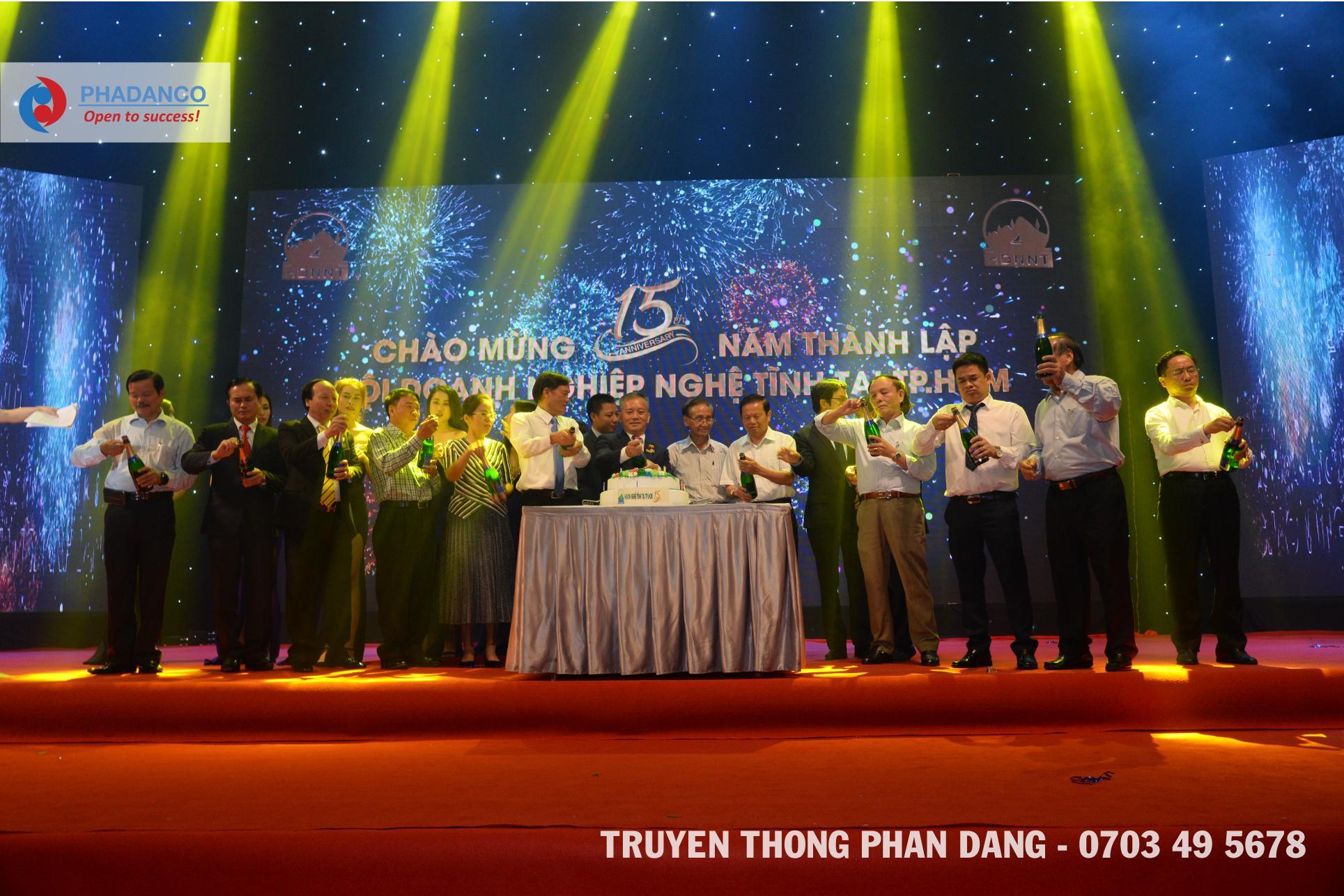 Lễ kỷ niệm 15 năm thành lập công tyThế Giới Giấy