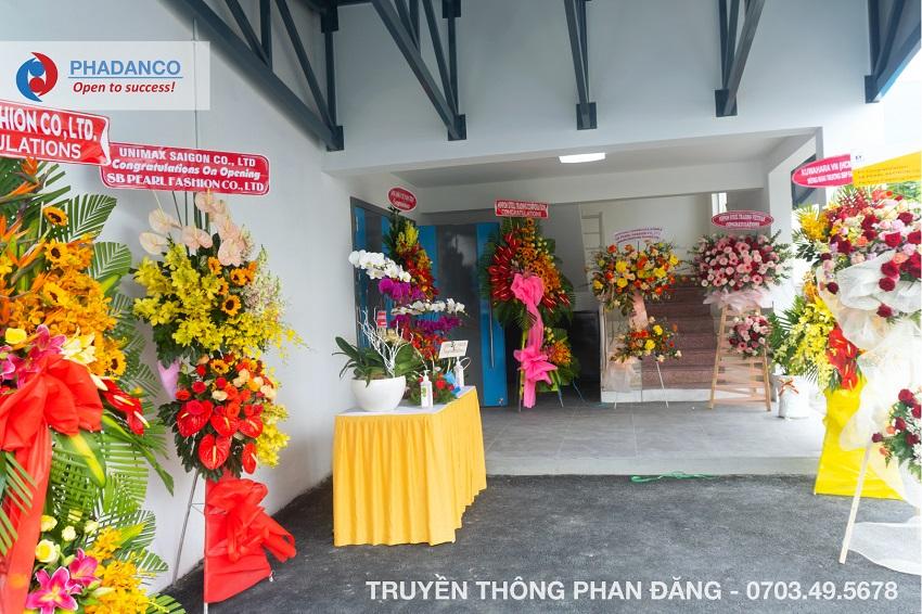 Lễ khai trương nhà máy mới SB Ngọc Trai