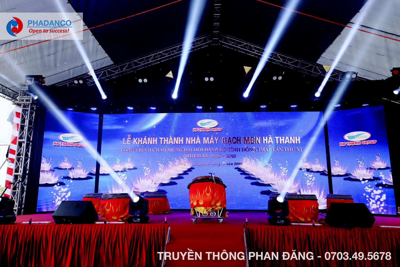 Lễ Khánh Thành Nhà Máy Gạch Men Hà Thanh