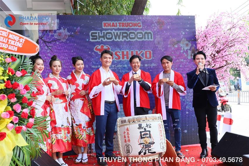 Lễ Khai Trương Showroom Toshiko