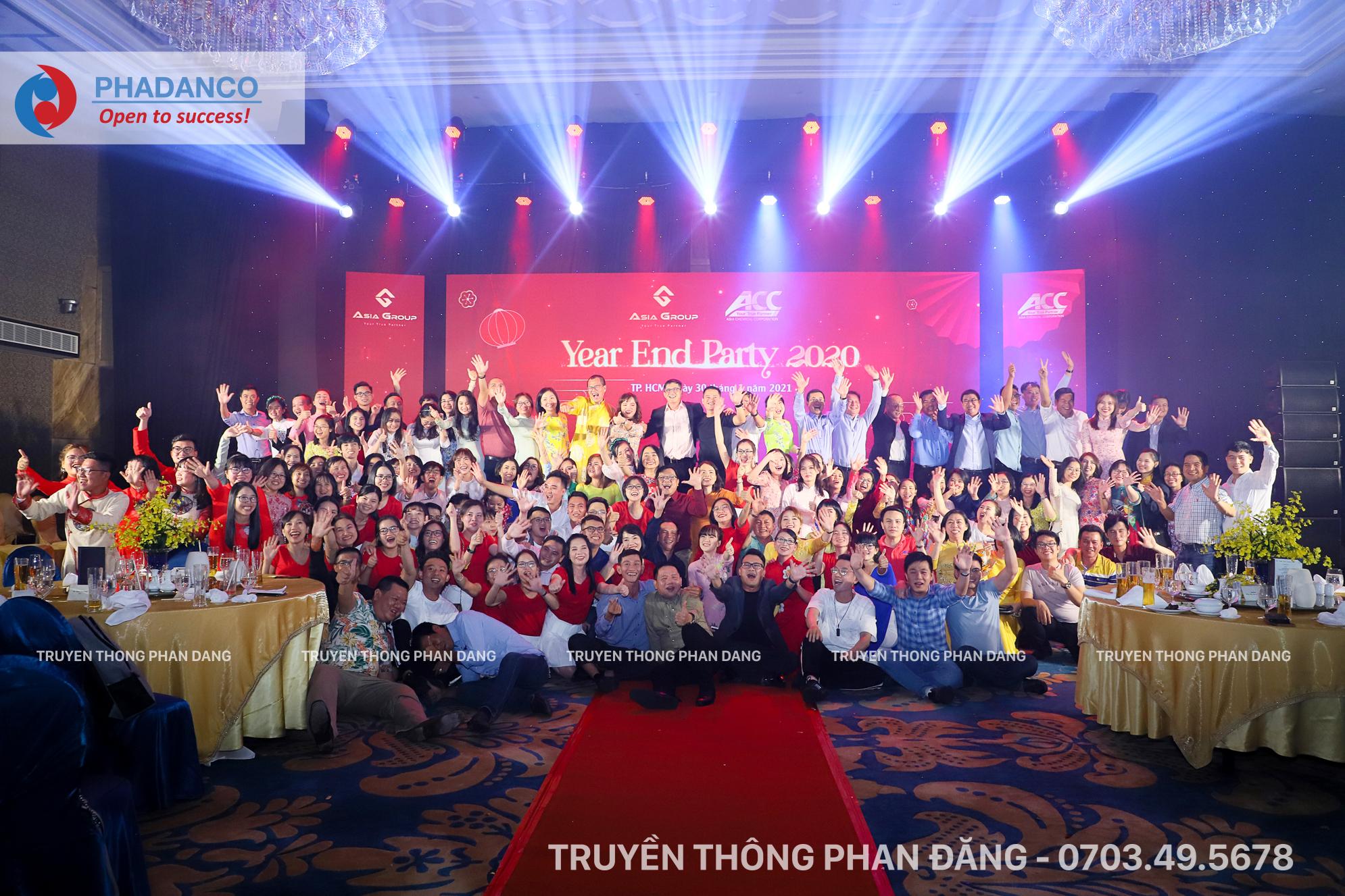 Tổ chức sự kiện tiệc tất niên công ty ACC, Công ty Cổ phần hóa chất Á Châu